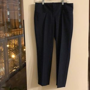 Limited Navy work crop pant. Drew fit. Size:6